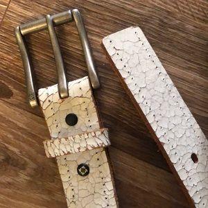 Man Kenneth Cole Italian leather belt 34/85